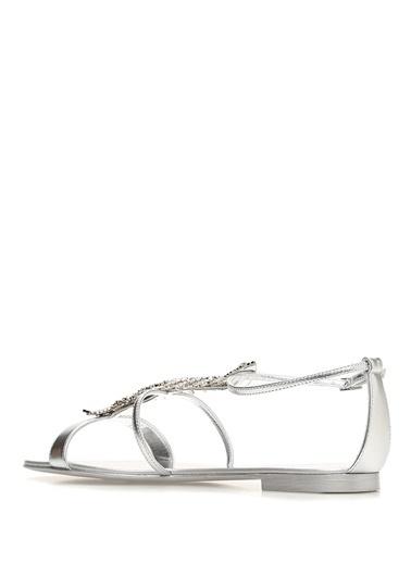 Giuseppe Zanotti Sandalet Gümüş